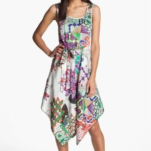 Donna Morgan handkerchief dress